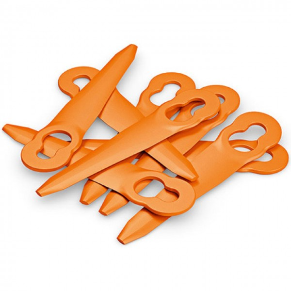 Satz Kunststoffmesser PolyCut 2-2, 8 Stück